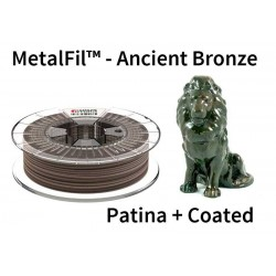 1,75 mm, MetalFil Bronze, filaments FormFutura, 0,75kg