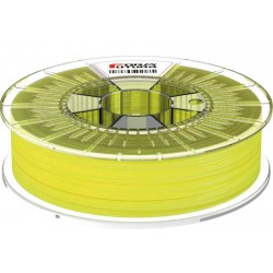 1,75 mm - HDglass™ Fluor Stained Yellow - illumining under UV light