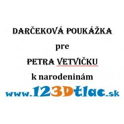 Gift voucher from 5, -EUR