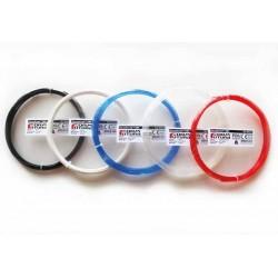 1,75 mm - ABS ClearScent™ - Červená - 90% pruhlednost - 50g