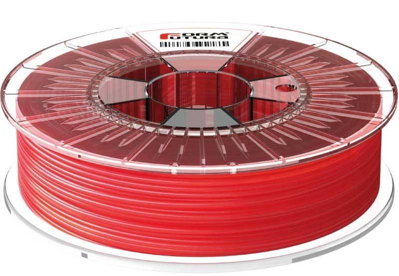 Červená - transparentná