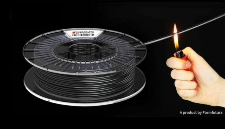Nehorľavý filament - ABSpro™ - Flame Retardant Black